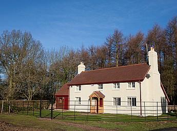 Peacock Villa, Eastnor Castle Estate